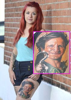 Robin Williams Fans Pay Tribute to Late Actor With Huge Portrait Tats http://www.popstartats.com/buzz/robin-williams-fans-pay-tribute-late-actor-huge-portrait-tats/