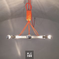 Circle Lamp / modern pendant for bikers / www.pleroo.it