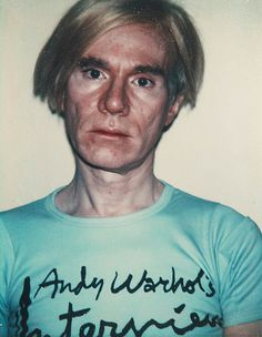 Andy Warhol Self Portrait, 1977.