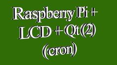 Raspberry Pi + LCD + Qt (2)