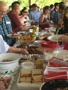 Dinner on the ground: Southern tradition combines church, food and fellowship