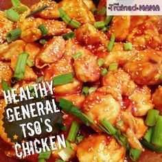 Healthy General Tso's Chicken - 21 Day fix Approved!