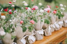 Wedding Favour - Roses to plant Rustic Wedding, Our Wedding, Dream Wedding, Table Arrangements, Flower Arrangements, Wedding Favours, Wedding Gifts, Deco Floral, Wedding Decorations