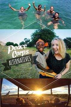 Peace Corps Alternatives: Can't commit to 2 years in the Peace Corps? We can help! #volunteer #travel #inspiration #IVHQ