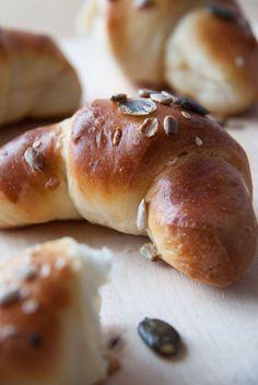 Magvas minikiflik - laktózmentes péksütemény házilag