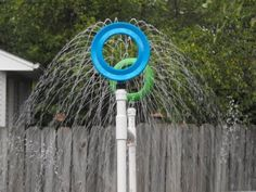 Kreations Done By Hand: Our DIY PVC Kid Sprinkler