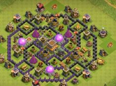 Farming Bases Links 2020 with Bomb Tower. These Bases can Withstand various enemy attacks in multiplayer battles. Town Hall, Clash Of Clans, Farming, Everything, Base, Clash On Clans