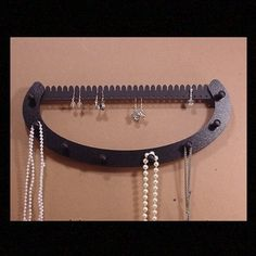 NECKLACE & EARRING rack holder   earring by LangtonStudio on Etsy