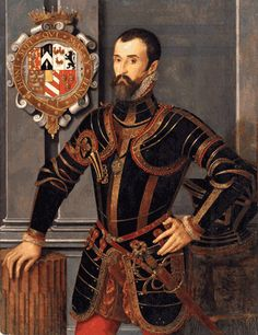 William Herbert, 1st Earl of Pembroke, brother-in-law of Queen Katherine Parr and one of Henry VIII's privy councillors. 17th paternal great grandfather.