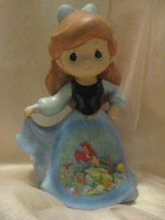 Precious Moments Disney Little Mermaid Ariel Princess Figurine Bradford | eBay