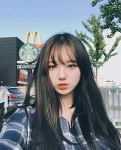 Image discovered by rara / hiatus. Find images and videos about girl, model and aesthetic on We Heart It - the app to get lost in what you love. Ulzzang Hair, Ulzzang Korean Girl, Cute Korean Girl, Asian Girl, Ulzzang Fashion, Korean Fashion, Korean Beauty, Asian Beauty, Girl Pictures