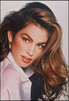 """cindy crawford hair: """"big, healthy, shiny hair never goes out of style"""