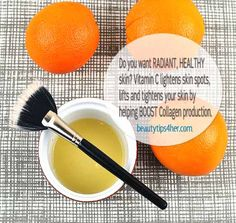 Beauty Tip : DIY Vitamin C Mask | Beauty and MakeUp Tips