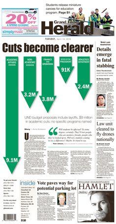 Grand Forks Herald 4/19/16 via Newseum