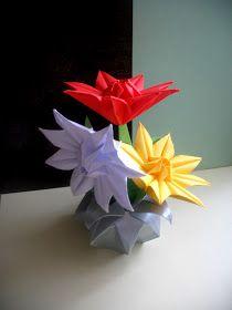 """INTERFERENTE...artistice si diverse. : Origami :""""Estrella Arabesco"""""""