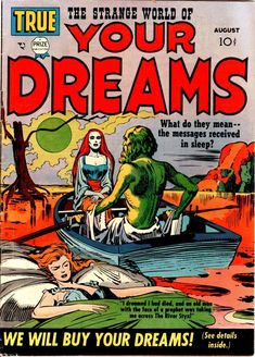 Comic Book Cover For Strange World of Your Dreams v1 #1
