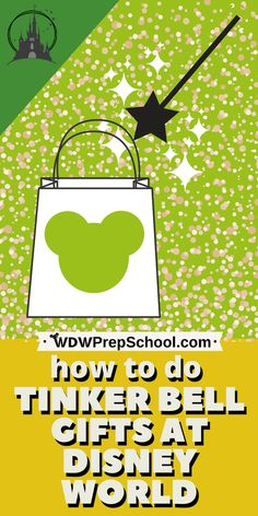 One way to add extra magic during your Disney World trip is by doing Tinker Bell gifts for your children. Here's how. | #disneyworld #disneytips #disneyworldtips