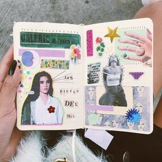 Art journal inspiration. Techniques and ideas for keeping a scrapbook or a travel journal #halloweenstuff
