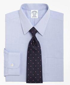 Non-Iron Regent Fit Point Collar Dress Shirt