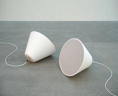Ceramic cone speakers by Broberg