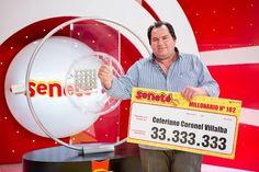 Un número le cambió todo a Ceferiano que se ganó Gs. 33.333.333 con el #Progresivo en el sorteo del 24/01/16