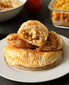 turkey and mashed potato empanadas