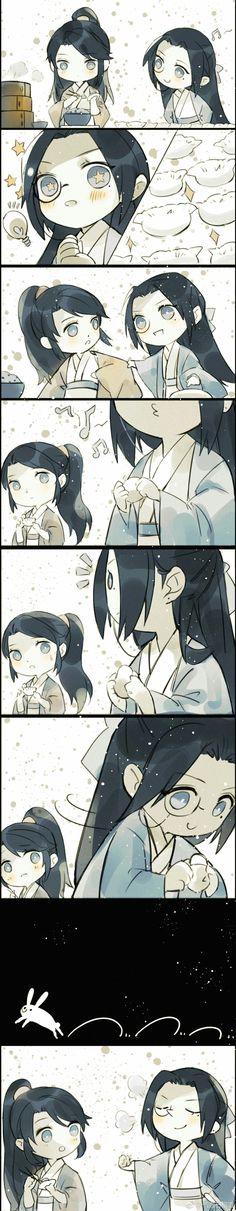 Anime Chibi, Manga Anime, Cute Stories, China Art, Cute Chibi, Light Novel, Thing 1, Priest, Doujinshi