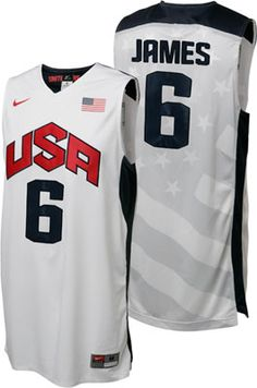 NEW ARRIVAL: LeBron James 2012 Olympics Team USA Authentic Nike Jerseys - #USA #London2012  http://www.fansedge.com/United-States-LeBron-James-Olympic-Basketball-Authentic-Jersey-_-677001513_PG.html?social=pinterest_71012_usalbj