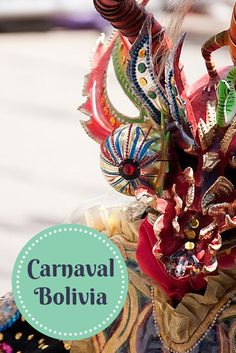 One of the most spectacular festivals in the world! Learn more about Bolivia's Oruro Carnaval here: http://www.bolivianlife.com/carnival-in-oruro/