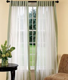 Tab Top Curtains Designs Ideas 2012 Pictures