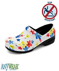 Anywear Angel Magnificent Meadow Closed Back Clog
