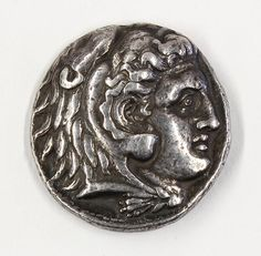 Alexander the Great silver tetradrachm