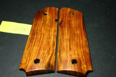 FIT ARIZONA DESERT IRONWOOD 1911 Full Size GRIPS Government Wood 45 mag 7-8 new! #206grips