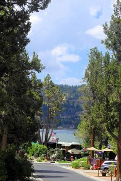 The gorgeous Big Bear Shores RV Resort