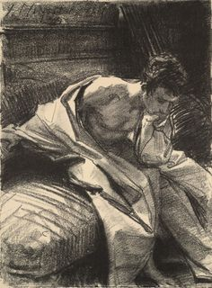 huariqueje: John Singer Sargent (American, 1856–1925), Study of...