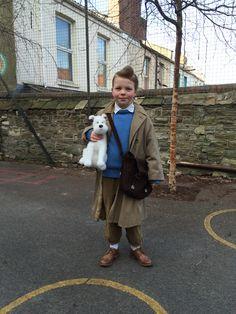 Tintin - World book day costume                                                                                                                                                                                 More