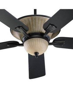 Cool and unique ceiling fans ceiling fan fans and ceilings old world bronze 52 fan w down up light model q 740525 mozeypictures Image collections