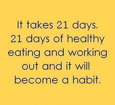 Mudando velhos hábitos! Felicidade é!
