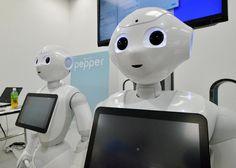 Le robot Pepper, qui s'appuie sur l'intelligence artificielle en réseau, a été conçu par Aldebaran dont Softbank a pris le contrôle.