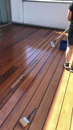 Outside Flooring, Deck Flooring, Deck Stain Colors, Garden Planter Boxes, Ipe Wood, Pergola Pictures, Wood Cladding, Wooden Decks, Rustic Gardens