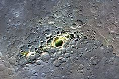 Mercury, South Pole