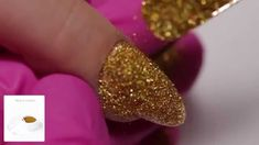 Effect Holo Gold from Indigo :) Follow us on Pinterest! #gold #holo #effect #nails #glitter #trends