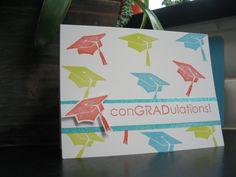 Graduation Card ConGRADulations Card by apaperaffaire on Etsy, $2.75