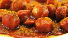 Currywurst mit Sauce