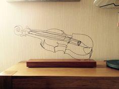 My Attempts - Wire craft - Wire Violin