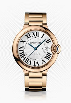 Rose Gold Ballon Bleu Cartier Watch. Ahhhmazing! cool