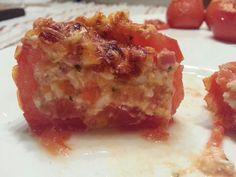 Los tomates rellenos estilo Domingo. No me digais q no apetecen :-)