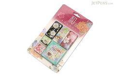 Kurochiku Japanese Pattern Magnet - Sakura (Cherry Blossom) - Set of 6…