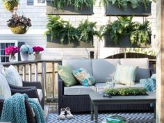 The experts at HGTV.com share creative privacy solutions and ideas for outdoor…