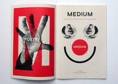 #magazine #spread #two-tone